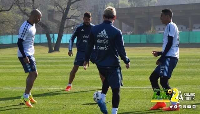 صور : استعدادات منتخب الآرجنتين لتصفيات كأس العالم coobra.net