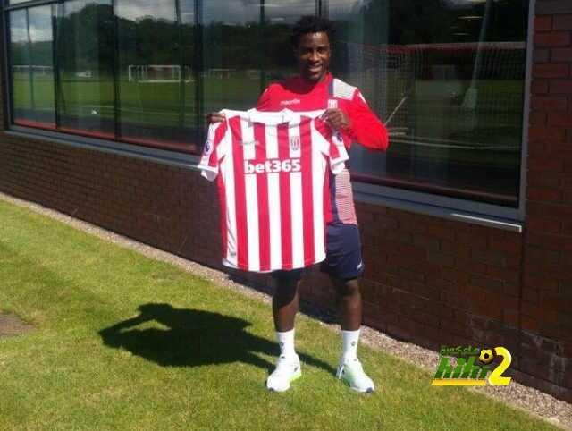 رسميا : بوني لاعبا في ستوك سيتي coobra.net