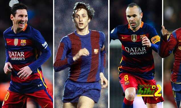 أفضل عشرة لاعبين فى تاريخ برشلونة ! coobra.net