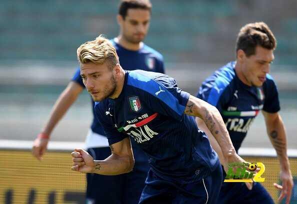 صور : منتخب إيطاليا يواصل الاستعداد لتصفيات كأس العالم coobra.net