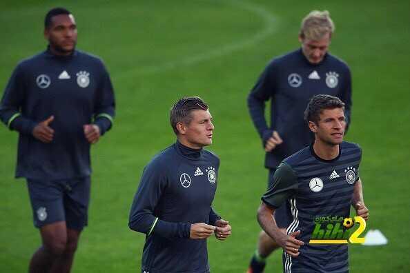صورة : أخر استعدادات منتخب المانيا لمواجهة النرويج coobra.net