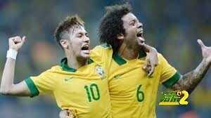 فيديو: نيمار و مارسيلو يشعلان غرفة ملابس منتخب البرازيل بالرقص coobra.net