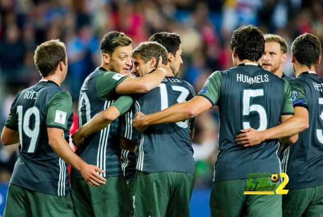 ألمانيا تنهي الشوط الأول متقدمة على النرويج ! coobra.net