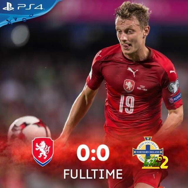 التشيك تتعادل سلبيا ضد المنتخب الإيرلندي الشمالي coobra.net