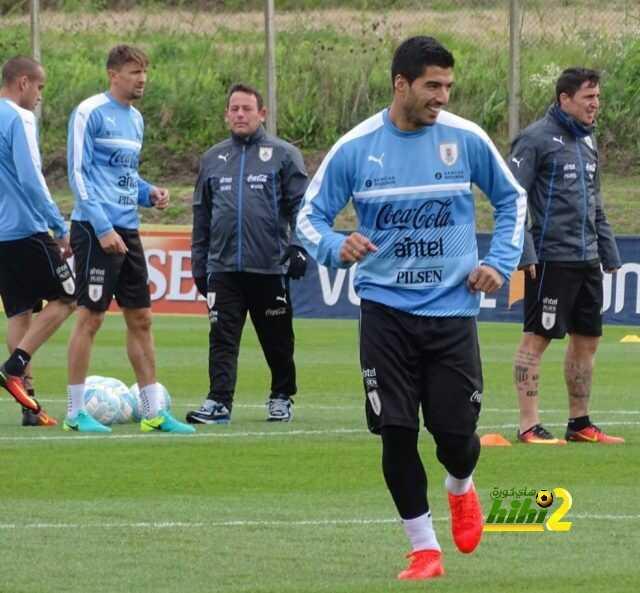 صورة : سواريز يستعد لمواجهة الباراجواي coobra.net