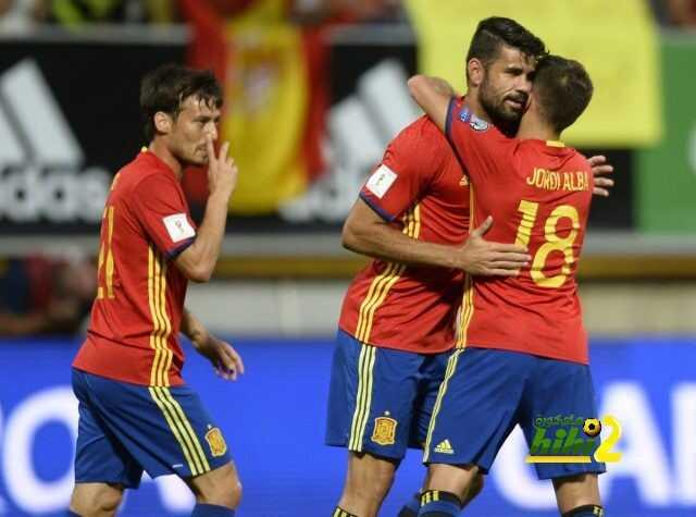 اسبانيا تنهي الشوط الاول متقدمة على ليختنشتاين coobra.net