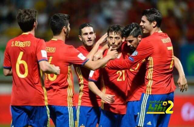 تغريدة موراتا إثر فوز منتخب إسبانيا على ليختنشتاين .! coobra.net