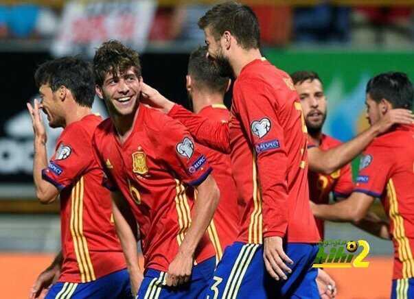 طموح روبيرتو رفقة منتخب إسبانيا coobra.net