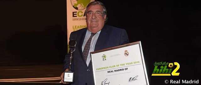 ريال مدريد .. أفضل نادي في العالم عن عام 2016 coobra.net