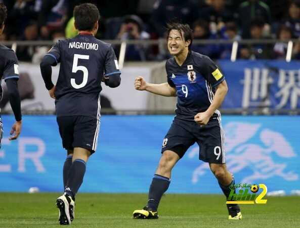 فيديو : اليابان تفوز على تايلاند بثنائية بتصفيات كأس العالم coobra.net