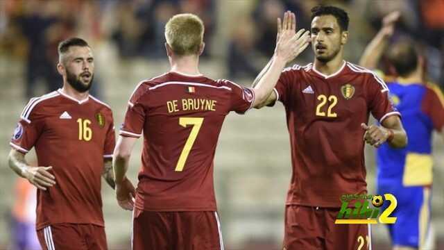 تشكيلة بلجيكا الرسمية لمباراة قبرص coobra.net