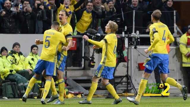 السويد تنهي الشوط الاول متقدمة على هولندا coobra.net