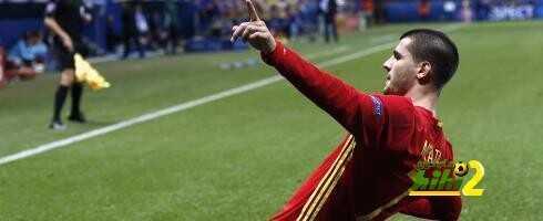 موراتا يشكر كيليني لغيابه عن مواجهة أسبانيا وإيطاليا coobra.net