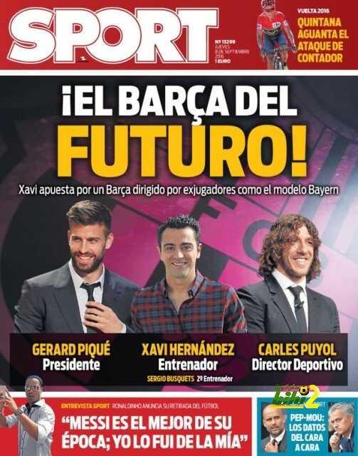السبورت ? مستقبل برشلونة في لاعبيه ? coobra.net
