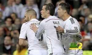 فيديو : لقطات رائعة لثلاثي الـ BBC اثناء تدريبات ريال مدريد coobra.net