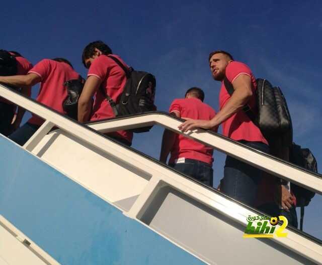 صور : رحلة اتليتكو مدريد إلى فيجو coobra.net