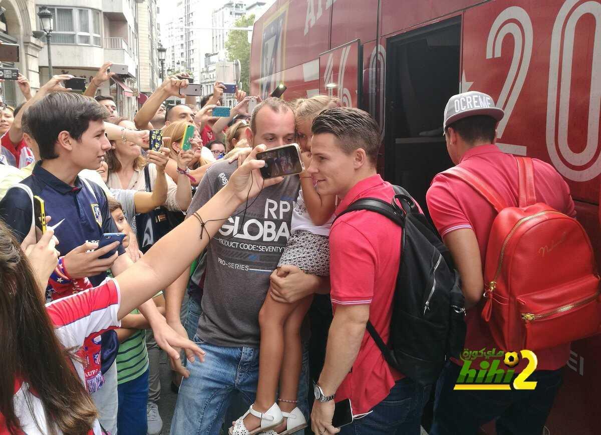 صور : وصول نجوم أتلتيكو إلى الفندق استعدادا لمواجهة سيلتا فيغو coobra.net
