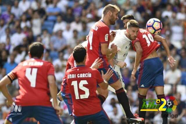 راموس يصل للهدف رقم 60 رفقة ريال مدريد coobra.net