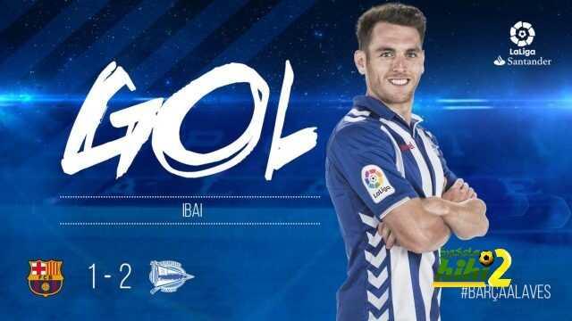 ألافيس يسجل الهدف الثاني ضد نادي برشلونة ! coobra.net