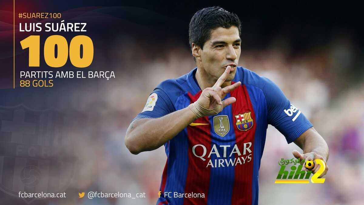 رسميا : سواريز يصل للمباراة المئوية مع برشلونة coobra.net
