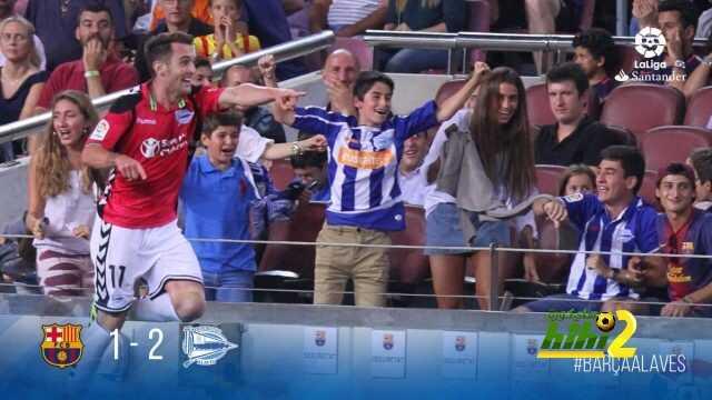فيديو : ألافيس يحقق فوزا ثمينا على برشلونة من قلب ملعب الكامب نو ! coobra.net
