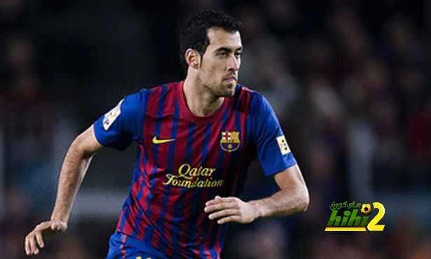 تفاصيل أرقام بوسكيتس في مبارياته الـ250 مع برشلونة coobra.net