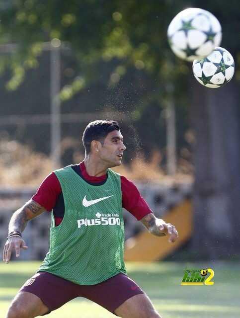 صورة : أولى تدريبات اتليتكو مدريد استعدادا لإيندهوفن coobra.net