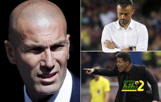 ريال مدريد متفوق على برشلونة بسبعة نقاط ? زيدان بدأ رحلة الهروب ! coobra.net