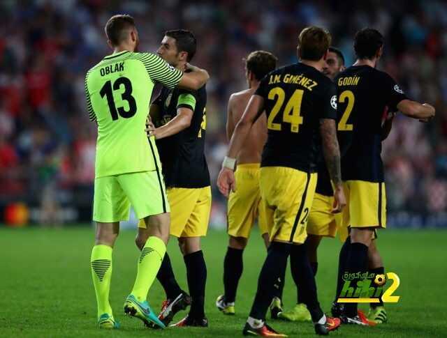 ارقام اتلتيكو مدريد في اخر 23 مباراة بدوري الابطال coobra.net