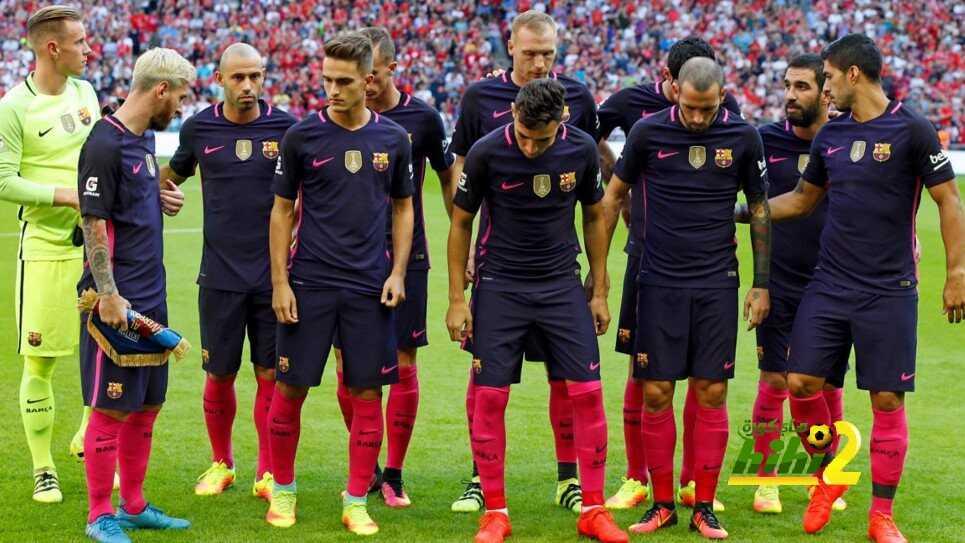 رسميا : برشلونة يعادل رقم مانشستر يونايتد coobra.net