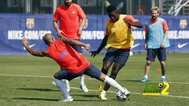 برشلونة يبدأ تدريباته استعدادا لليجانيس coobra.net