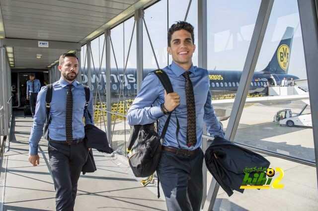 صورة : عودة لاعبي دورتموند لمعقلهم coobra.net