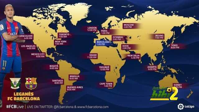 موعد مباراة برشلونة وليجانيس في مختلف بلدان العالم coobra.net