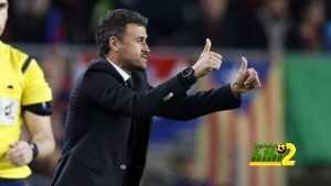 فيديو : ردة فعل انريكي بعد كل هدف ضد ليجانيس coobra.net