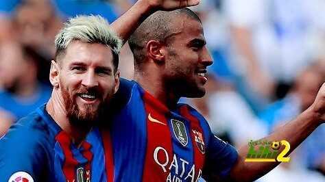 رافيينا يسجل أولى أهدافه مع برشلونة من خارج منطقة الجزاء coobra.net