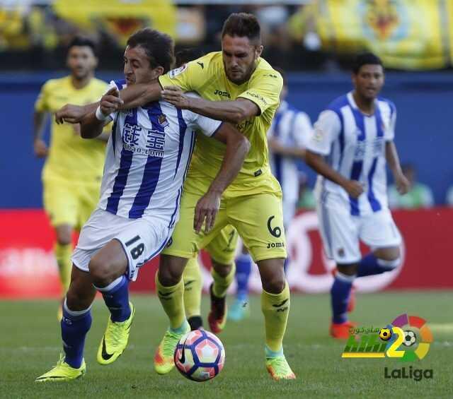 فياريال يحقق فوزا هاما ضد ريال سوسيداد coobra.net