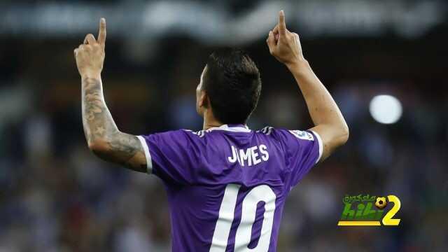 ارقام جيمس رودريجيز خلال 83 مباراة رفقة ريال مدريد coobra.net