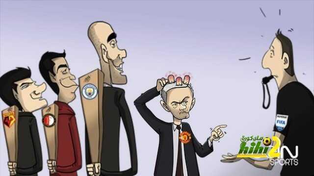 كاريكاتير الـ beINSPORTS حول سقوط مورينيو في أخر ثلاث مباريات coobra.net