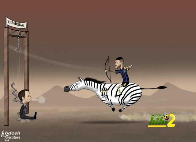 كاريكاتير هاي كورة .. هكذا أنقد قناص إنتر ميلان ماورو إيكاري مدربه من الإقالة ! coobra.net