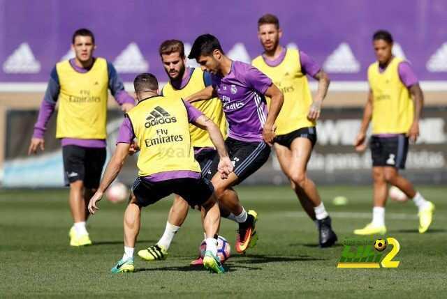 صور : أخر استعدادات ريل مدريد لمواجهة فياريال coobra.net
