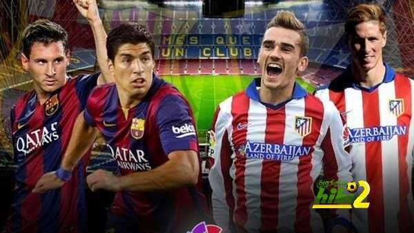 تشكيلة : برشلونة يواجه اتلتيكو مدريد في قمة نارية coobra.net