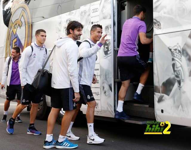 صور : ريال مدريد يغادر للمدينة الرياضية coobra.net