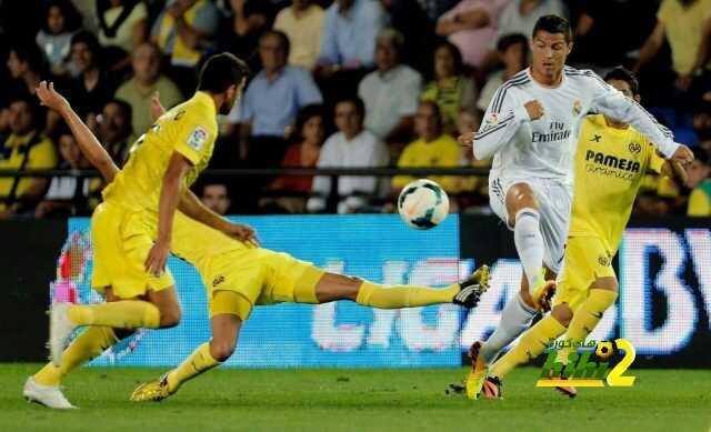 فياريال ينهي الشوط الأول متقدما على ريال مدريد coobra.net
