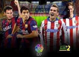 برشلونة ينهي الشوط الأول متقدما على أتليتيكو مدريد بهدف راكيتيتش coobra.net
