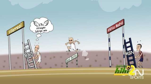 صورة : سباق الليجا بعد الجولة الخامسة من البطولة coobra.net