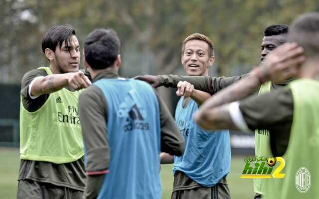 صور : ميلان يواصل استعداداته لمباراة فيورنتينا coobra.net