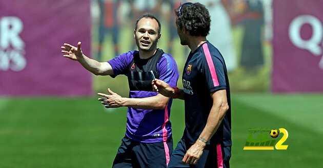 انيستا : مع انريكي استمتعت بكرة القدم اكثر من اي وقت اخر coobra.net