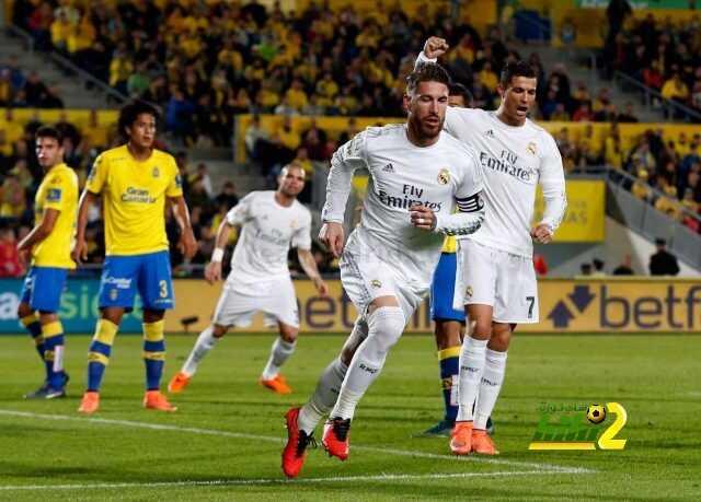 ريال مدريد مسيطر تماما بتاريخ مبارياته المباشرة ضد لاس بالماس coobra.net