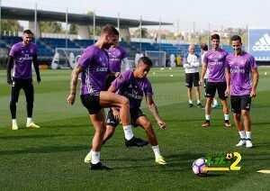 فيديو : لقطات طريفة اثناء تدريبات ريال مدريد coobra.net