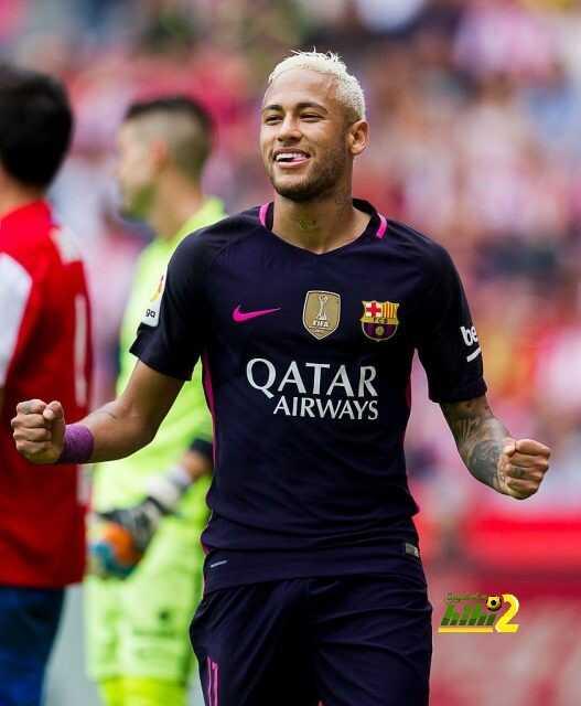 نيمار يتوج بجائزة أفضل لاعب في مباراة نادي برشلونة ضد خيخون ! coobra.net